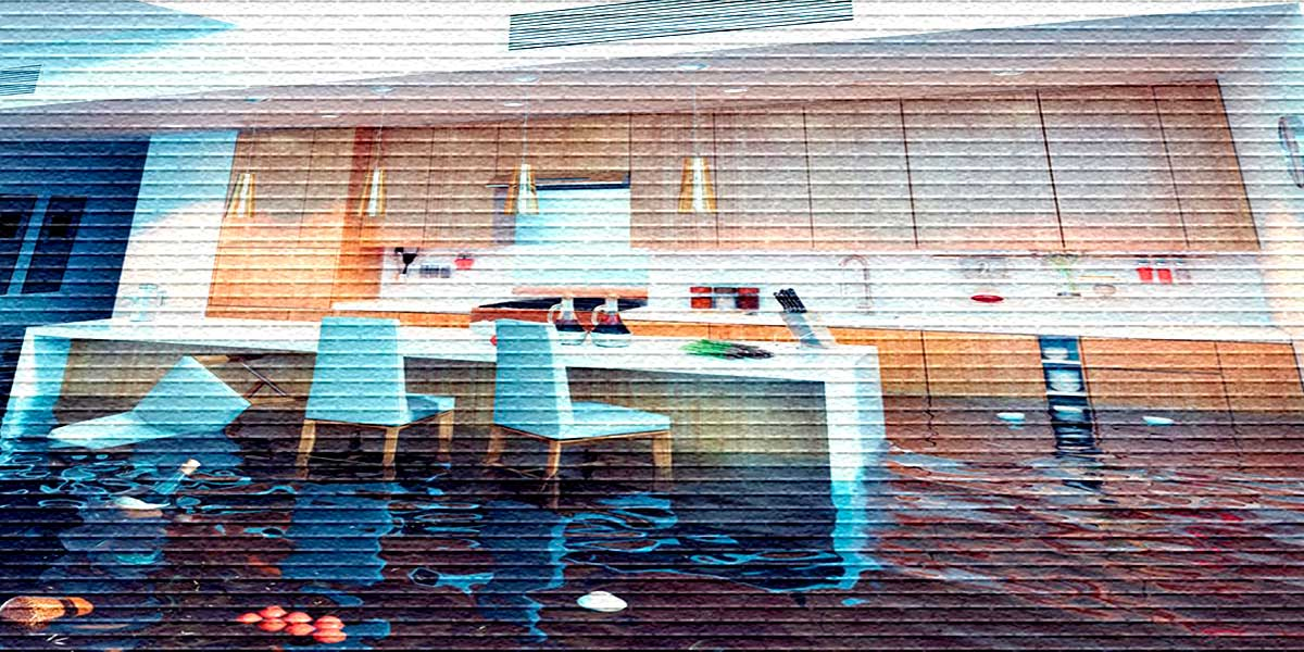 Как считается ущерб при затоплении квартиры