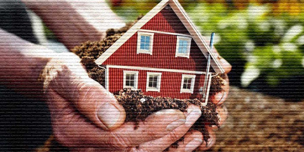 Как оформить наследство на дом и землю - картинка