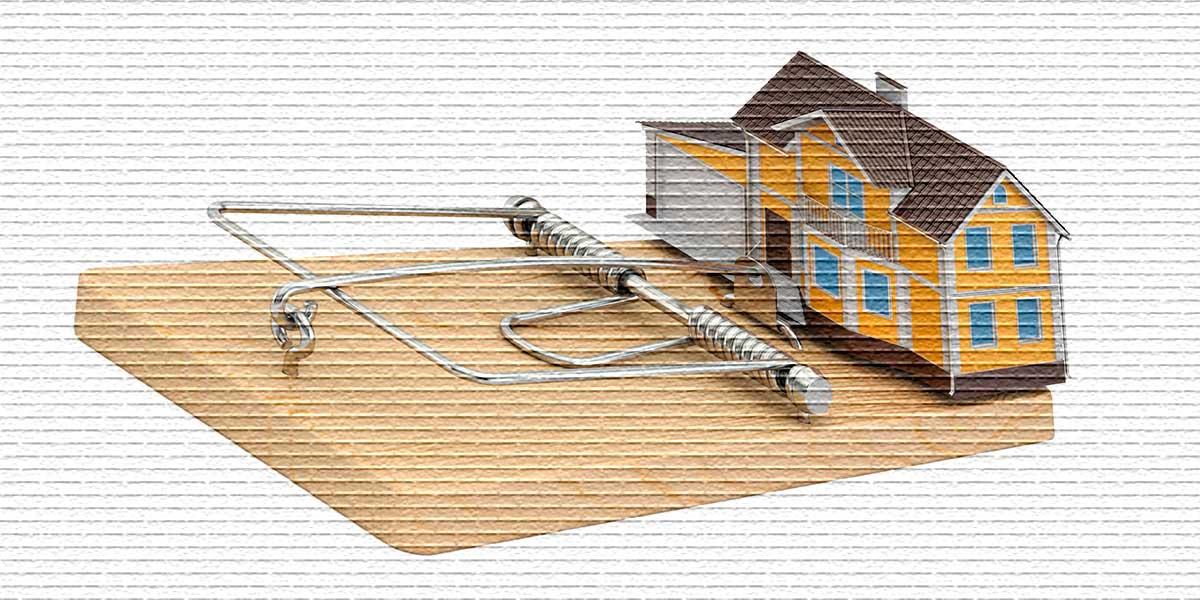 Риски при продаже недвижимости - картинка