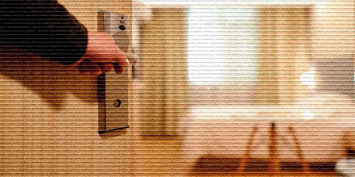 вход в комнату - картинка
