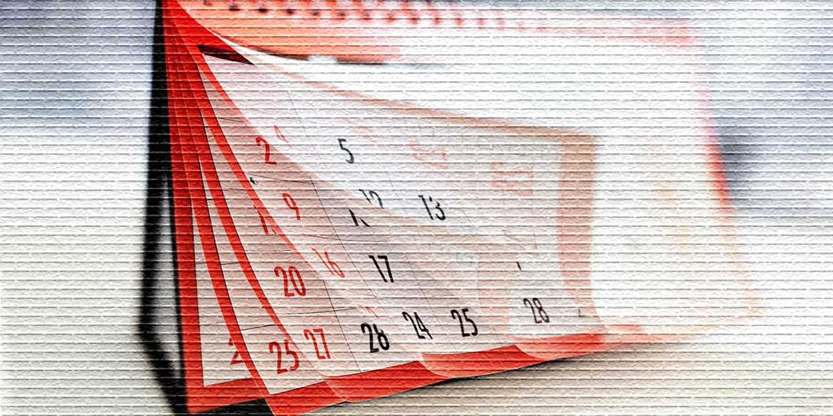 Календарь, праздник выпадает на отпуск