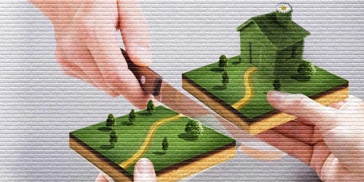 Как заключить соглашение о разделе земельного участка на два