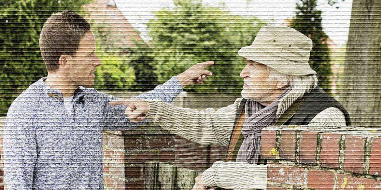 Соседи спорят - картинка