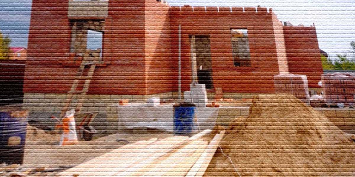 Строительство дома - картинка