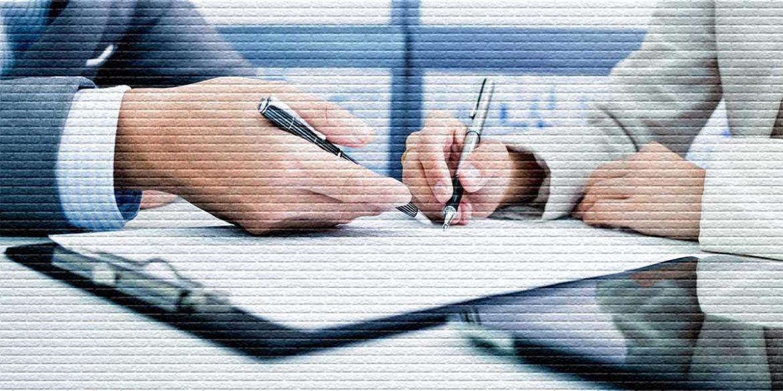 Подписание документа - картинка