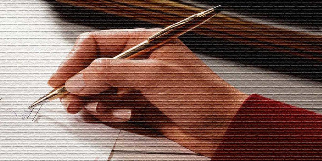 Подпись на документе - картинка