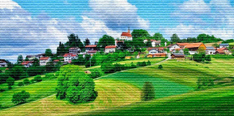 Поселение - картинка